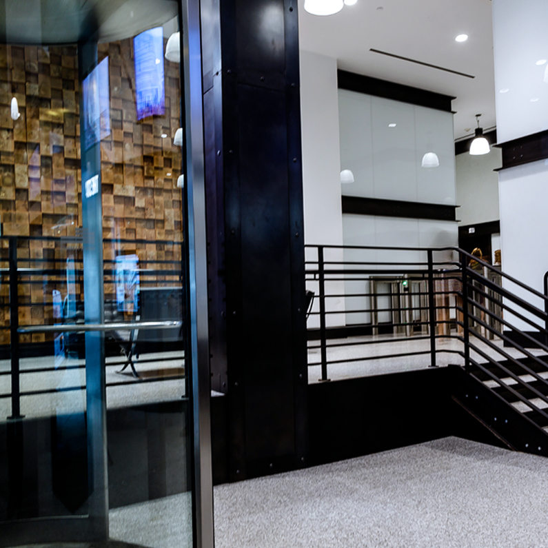 601 w 26 Main Lobby Doors West