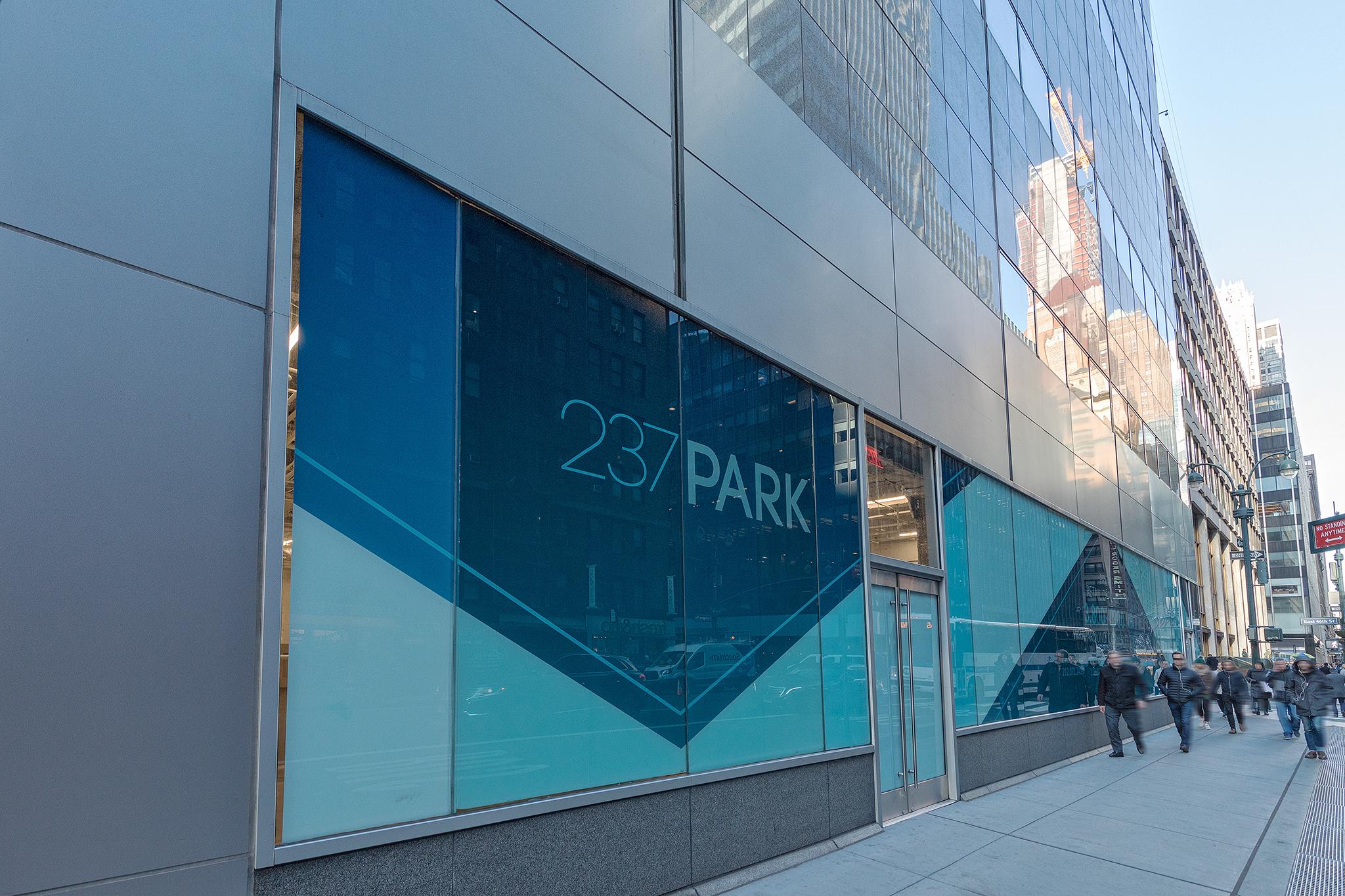 237 Park Ave Window
