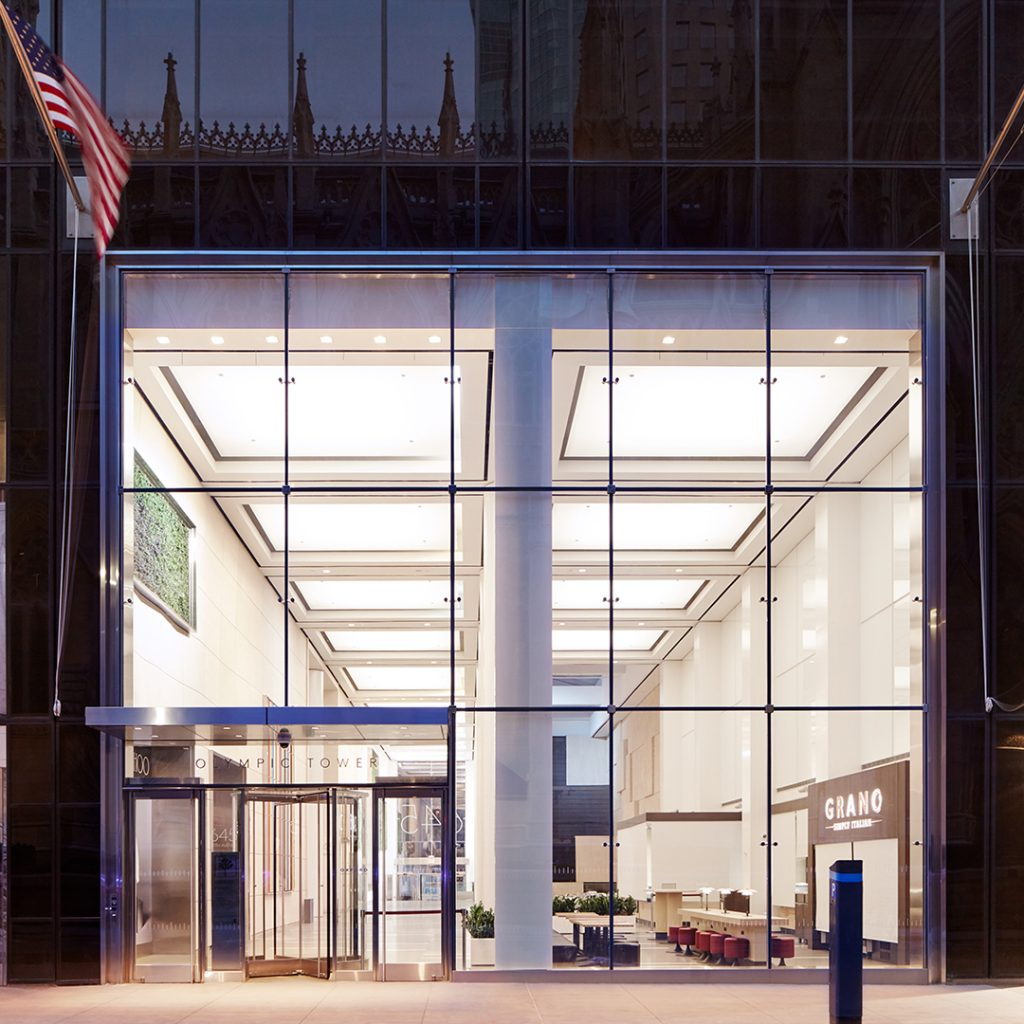 645 fifth ave_Front view entry